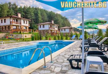 Романтична почивка в новопостроеният комплекс – еко селище Руминика, в близост до Цигов чарк и Велинград. Нощувка за двама с възможност за  безплатен риболов.