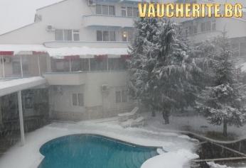 """Нощувка със закуска, вечеря + ползване на горещ външен минерален басейн от хотел """"Маркита"""", Велинград"""