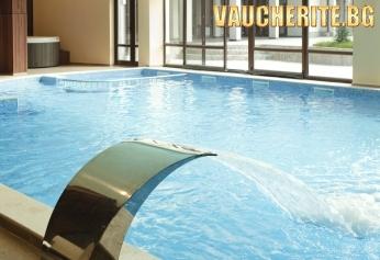 Нощувка със закуска и вечеря + ползване на отопляем басейн и СПА от хотел Свети Георги, Банско