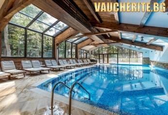 """Нощувка със закуска и вечеря + ползване на басейн, фитнес и ски гардероб за собствено оборудване от хотел """"Лион"""", Боровец"""