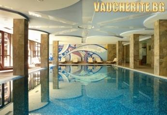 Нощувка със закуска и вечеря + ползване на отопляем закрит басейн, сауна, парна баня и джакузи от хотел Уинслоу Инфинити, Банско