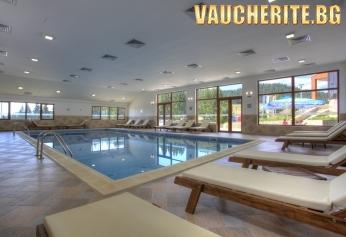 """Нощувка със закуска и вечеря + ползване на закрит басейн, парна баня и сауна от хотел """"Кооп Рожен"""" , до Пампорово"""