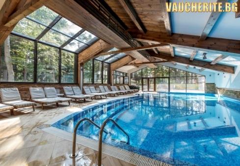 """Нощувка със закуска + ползване наползване на басейн, сауна и парна баня от хотел """"Лион"""", Боровец"""