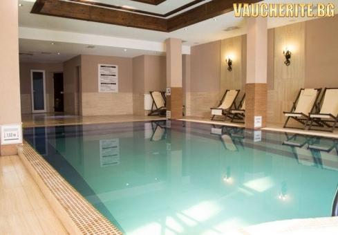 """Нощувка със закуска + ползване вътрешен басейн + сауна и парна баня от хотел """"Мария Антоанета"""" , Банско"""