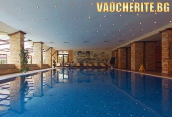 Нощувка със закуска и вечеря + ползване на басейн с минерална вода, сауна и парна баня от хотел Свети Спас , Велинград