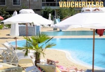 На море в Несебър! Нощувка на база All Inclusive + ползване на бaсейн, шезлонги и чадъри на басейна от хотел Каменец