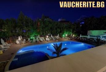 LAST MINUTE! All inclusive + ползване на външен басейн, чадъри и шезлонги край басейна от хотел Тишина, Приморско
