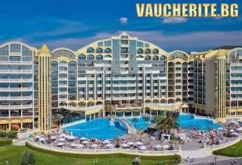 РАННИ ЗАПИСВАНИЯ! На море в Слънчев бряг! Нощувка със закуска и вечеря + басейн, шезлонг и чадър край басейна от хотел Виктория палас