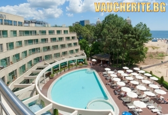 На море в Слънчев бряг! Нощувка на база ALL INCLUSIVE + ползване на външен басейн от хотел Jeravi Beach Alexandria Club