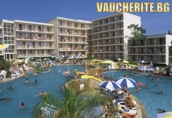 """На море в Албена! Нощувка на база ALL INCLUSIVE PLUS + безплатен вход в """"Аквамания Албена""""  от хотел Вита Парк"""