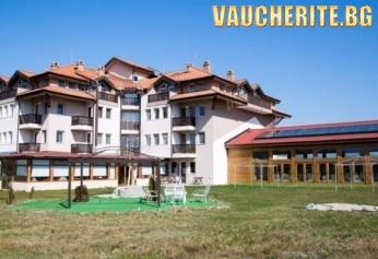 Майски празници в с. Баня, до Банско! 2 или 3 нощувки със закуски и вечери + ползване на вътрешен минерален басейн от хотел Седем Сезона