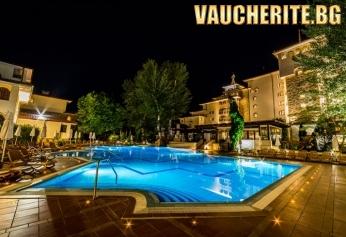 На море в Слънчев бряг! Ultra All inclusive + вътрешен басейн, чадъри и шезлонги на басейна и на плажа от хотел Хелена Парк