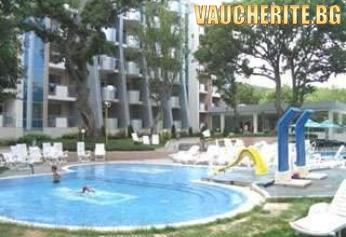 Нощувка на база All Inclusive + ползване на външен басейн от хотел Грийн Парк, Златни пясъци
