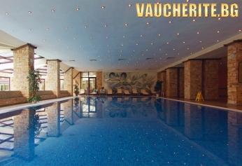 Нова Година във Велинград! 3 или 4 нощувки със закуски, вечери и Новогодишна вечеря + ползване на басейн с минерална вода, сауна и парна баня от хотел Свети Спас