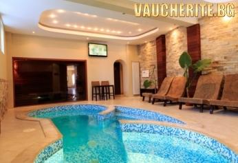 Нощувка със закуска и вечеря + ползване на външен и вътрешен басейн и джакузи от хотел Винпалас, Арбанаси