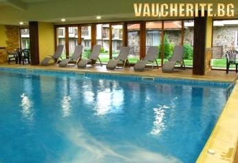 СКИ и СПА в Банско!  Нощувка със закуска +ползване на вътрешен басейн, джакузи, сауна, парна баня от хотел Божурленд, Банско