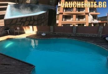 Нощувка със закуска или закуска и вечеря + ползване на джакузи и външен целогодишен басейн  с МИНЕРАЛА ВОДА от семеен хотел Илиевата къща