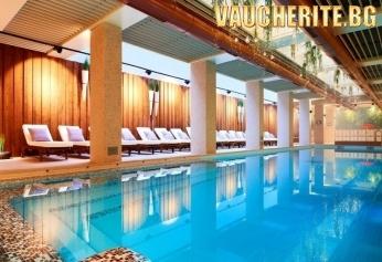 Нова Година в Банско! 3 нощувки със закуски + ползване на БИО басейни, солен басейн със соли от Мъртво море, сауна, джакузи, парна баня от хотел Лъки *****