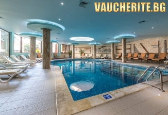 """Нощувка със закуска и вечеря + ползване на вътрешен отопляем басейн и Уелнес център от хотел """"Зара"""", Банско"""