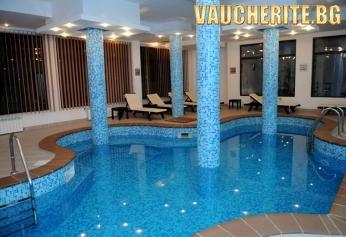 Нощувка със закуска и вечеря + ползване на басейн, сауна и парна баня от хотел Орбилукс