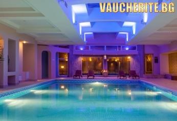 Нощувка със закуска и вечеря + ползване на външен и вътрешен басейн с МИНЕРАЛНА ВОДА, сауна, парна баня и джакузи от хотел Роял Спа, Велинград