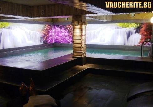 """Нощувка със закуска + ползване на вътрешен минерален басейн с МИНЕРАЛНА ВОДА, сауна, парна баня и джакузи от хотел """"Виа Лакус"""" , Сапарева Баня"""
