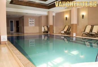 Нощувка със закуска, вечеря и напитки по време на храненията + вътрешен басейн, ползване на сауна и парна баня от хотел Мария-Антоанета Резиденс