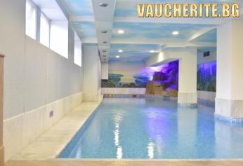 """Нощувка със закуска + ползване на вътрешен минерален басейн и СПА център от хотел """"Двореца"""" , Велинград"""