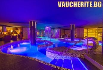 Нощувка със закуска и вечеря + ползване вътрешен акватоничен басейн и СПА център от Гранд хотел Свети Влас