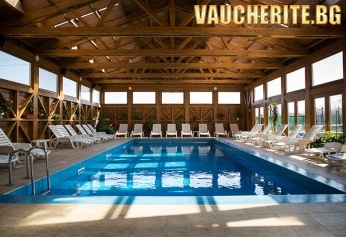 Пролетна ваканция в с. Баня, до Банско! 2, 3 или 4 нощувки със закуски и вечери + ползване на минерален басейн, сауна, парна баня и джакузи зона от хотел Седем Сезона