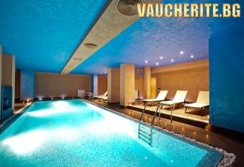 Нощувка със закуска и вечеря + ползване на закрит басейн, парна баня, сауна от хотел Cornelia Boutique Hotel & SPA