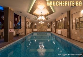 Нощувка със закуска, обяд и вечеря + ползване на закрит басейн и сауна от хотел Поларис Инн, Банско