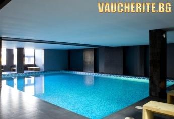 Пакет ''Зимна ваканция'' от хотел Ривърсайд, Банско! 3 нощувки със закуски и вечери и БОНУС дете до 11,99г безплатно + ползване на вътрешен отопляем басейн, сауна и парна баня