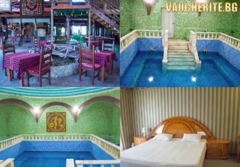Нощувка със закуска и вечеря + ползване на басейн с МИНЕРАЛНА ВОДА, джакузи и парна баня от Комплекс Рим, Велинград