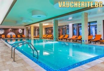 """Ваканция в Разлог! 2, 3 или 5 нощувки на база All Inclusive + ползване на вътрешен отопляем басейн, сауна и парна баня от """"Мурите Клуб Хотел"""""""