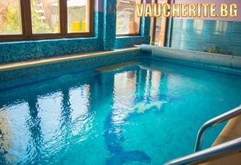 """Нощувка със закуска и вечеря + ползване на басейн и джакузи с МИНЕРАЛНА ВОДА,  сауна и парна баня от хотел """"Маги"""" , Велинград"""