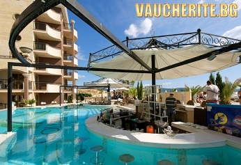 Нощувка на база All Inclusive + ползване на басейн от хотел Голдън Ина, Слънчев Бряг