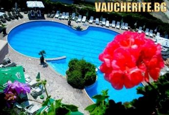 Нощувка със закуска и вечеря + ползване на вътрешен и външен басейн с МИНЕРАЛНА ВОДА , сауна и джакузи от хотел Албена