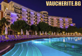 Великден от хотел GARDEN OF SUN 5*, Кушадасъ! 4 нощувки на база ALL INCLUSIVE + самолетни билети и трансфер