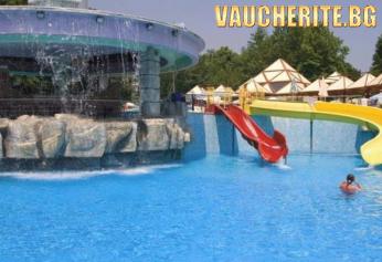 Нощувка на база All inclusive + ползване на открит басейн, чадър и 2 шезлонга на плажа от хотел Магнолия Стандарт, Албена