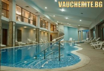 Нощувка на база All Inclusive Light и БОНУС дете до 11,99г БЕЗПЛАТНО + ползване на вътрешен отопляем басейн, сауна, парна баня, турска баня и фитнес от хотел Панорама Ризорт, Банско