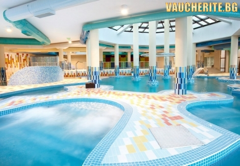 3, 5 или 7 нощувки със закуски и вечери + ползване на закрит басейн, аквапарк и СПА център от хотел Астера, Банско