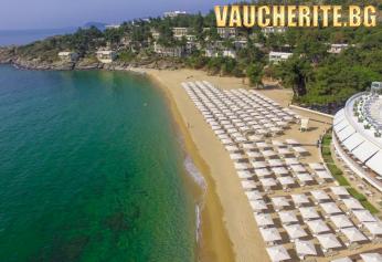 5 нощувки на база Ultra All Inclusive + ползване на чадъри и шезлонги на плажа, паркинг и фитнес от хотел Bomo Tosca Beach 4*+, Кавала