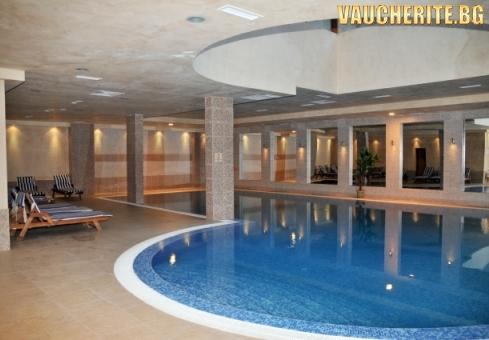 Нощувка със закуска и вечеря + ползване на басейн и релакс център от Апартаменти за гости Вила Парк, Боровец