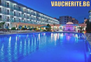 На море в Слънчев бряг! All inclusive + ползване на 3 басейна /мини аква парк/, шезлонг и чадър на басейните и интернет от хотел Котва