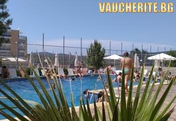 Нощувка на база All Inclusive + ползване на басейн от хотел Ориос, Приморско