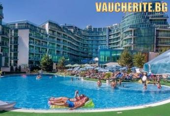 РАННИ ЗАПИСВАНИЯ до 22.07.2019г. All inclusive с настаняване в студио + 2 деца до 13,99г БЕЗПЛАТНО +  ползване на външен басейн, чадъри и шезлонги на плажа от хотел Приморско дел Сол