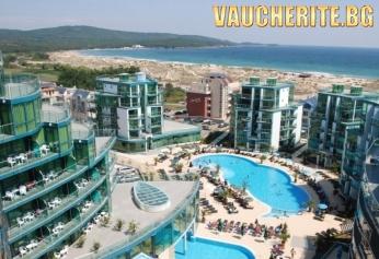 ТОП ОФЕРТА –25% до 31.08.2019г. All inclusive + ползване на външен басейн и БОНУС чадъри и шезлонги на плажа от хотел Приморско дел Сол