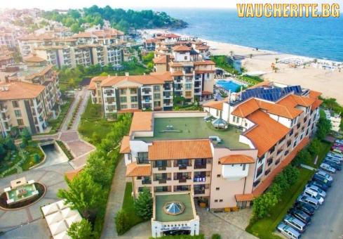 ТОП ОФЕРТА -30% до 18.08.2019г. ULTRA ALL INCLUSIVE + ползване на чадъри и шезлонги край басейна и на плажа +  паркинг от хотел Оазис дел Маре, Лозенец