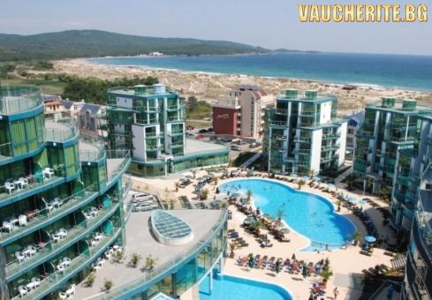 ТОП ОФЕРТА с до –30% отстъпка до 31.08.2019г. Ultra All inclusive + ползване на външен басейн и БОНУС чадъри и шезлонги на плажа от хотел Приморско дел Сол